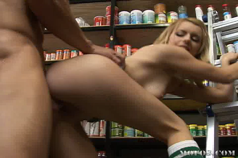 Lexi Belle Loves Her New Job At the Pet Store